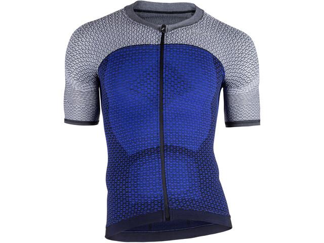 UYN Biking Alpha OW Koszulka z krótkim rękawem Mężczyźni, medieval blue/sleet grey